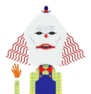 Clown from The Amazing World of Gumball