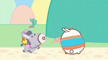 Donkey Dancing with Molang and Piu Piu