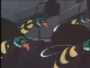 The Wasps Stealing Honey