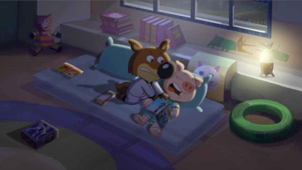 Anderson (Mini Wolf-Mini Loup) In Bed Scene 03