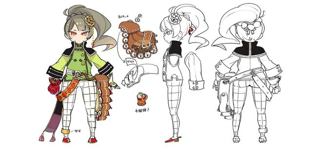 Erin Concept Art for Arc of Alchemist