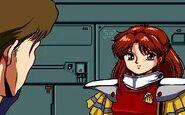 Gley Lancer Cutscene Lucia and Ken 2