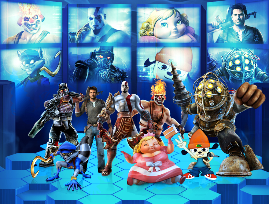Playstation All Stars Wiki: PlayStation All-Stars Battle Royale