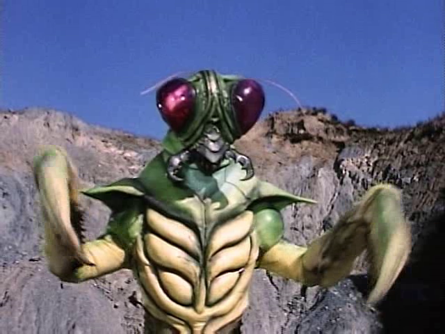 mantis mighty morphin power rangers fictional