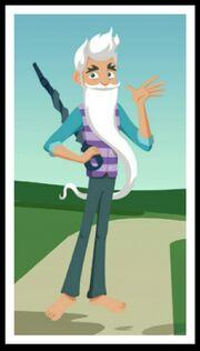 WW wizard whitebeard