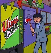 Angela Li about to destroy Ultra Cola