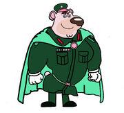 Super soldier bear man madan kunwar 2019 magic hero by billiman