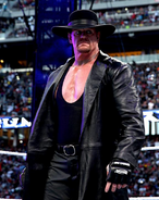 The Undertaker from Wrestlemania 31