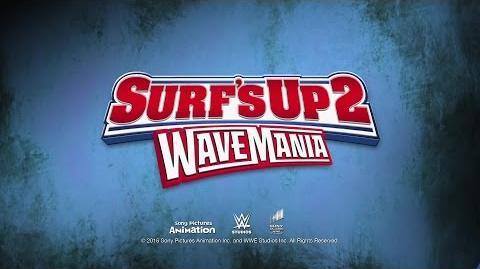 """WWE Superstars get animated in """"Surf's Up 2 WaveMania"""""""