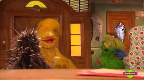 Furchester Hotel - The Tea Time Monsters get scared by a porcupine
