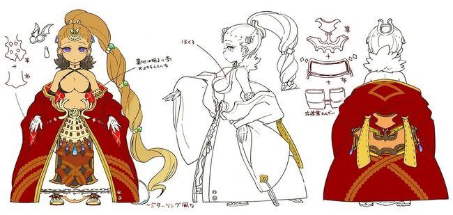 Sharon Concept Art for Arc of Alchemist
