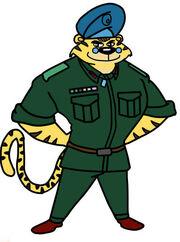 Akula Patro Alex sundia Tiger soldier character dog a tat the rat a tat