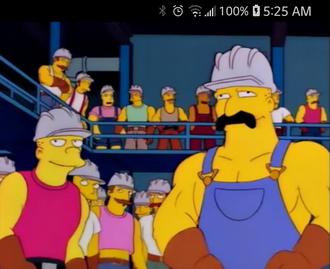 Steel Mill Workers