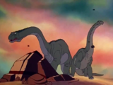 Littlefoot's Grandmother and Grandfather