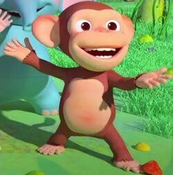 Mochi the Monkey