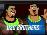 The Usos (The Jetsons & WWE: Robo-WrestleMania!)