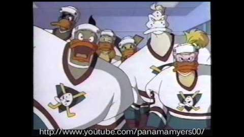 Power50 Kidtoons Masked Rider Mighty Ducks Commercial 1996
