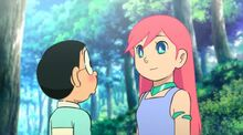 Nobita and Riruru