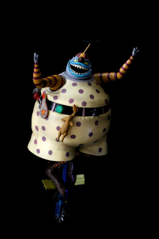 Nightmare Before Christmas Clown With A Tear Away Face.Clown With The Tear Away Face Fictional Characters Wiki