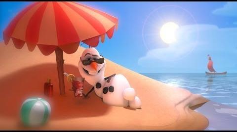 """Frozen """"In Summer"""" song -- Official - HD"""