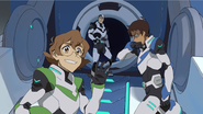 Shiro, Pidge and humiliated Lance are leaving