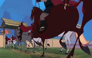 Mulan horses