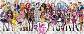 Ever After High characters