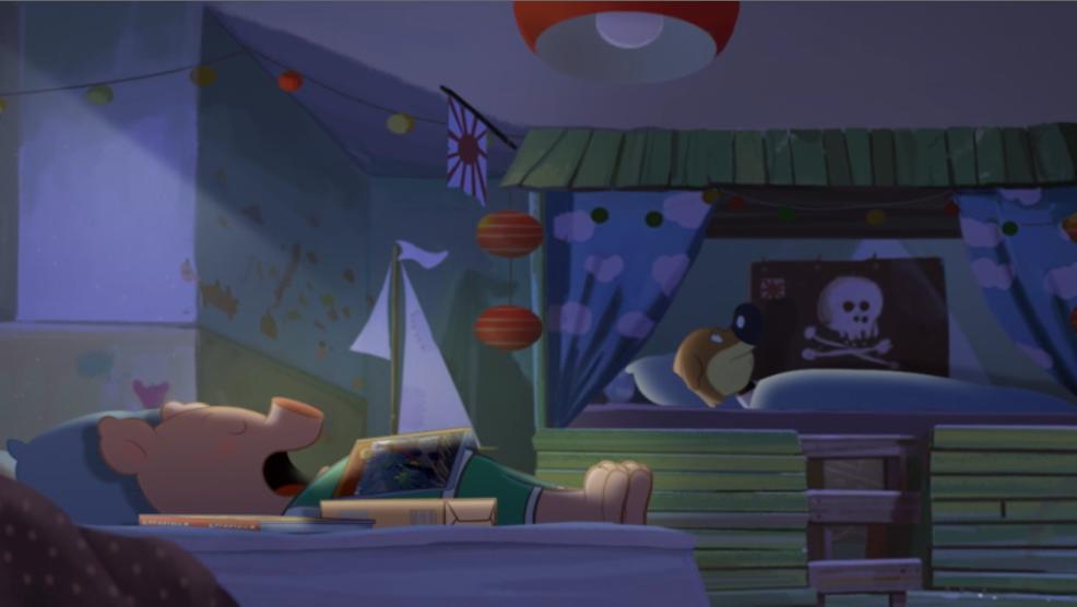 Anderson (Mini Wolf-Mini Loup) In Bed Scene 05