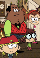 The Loud House Harold McBride and Kids