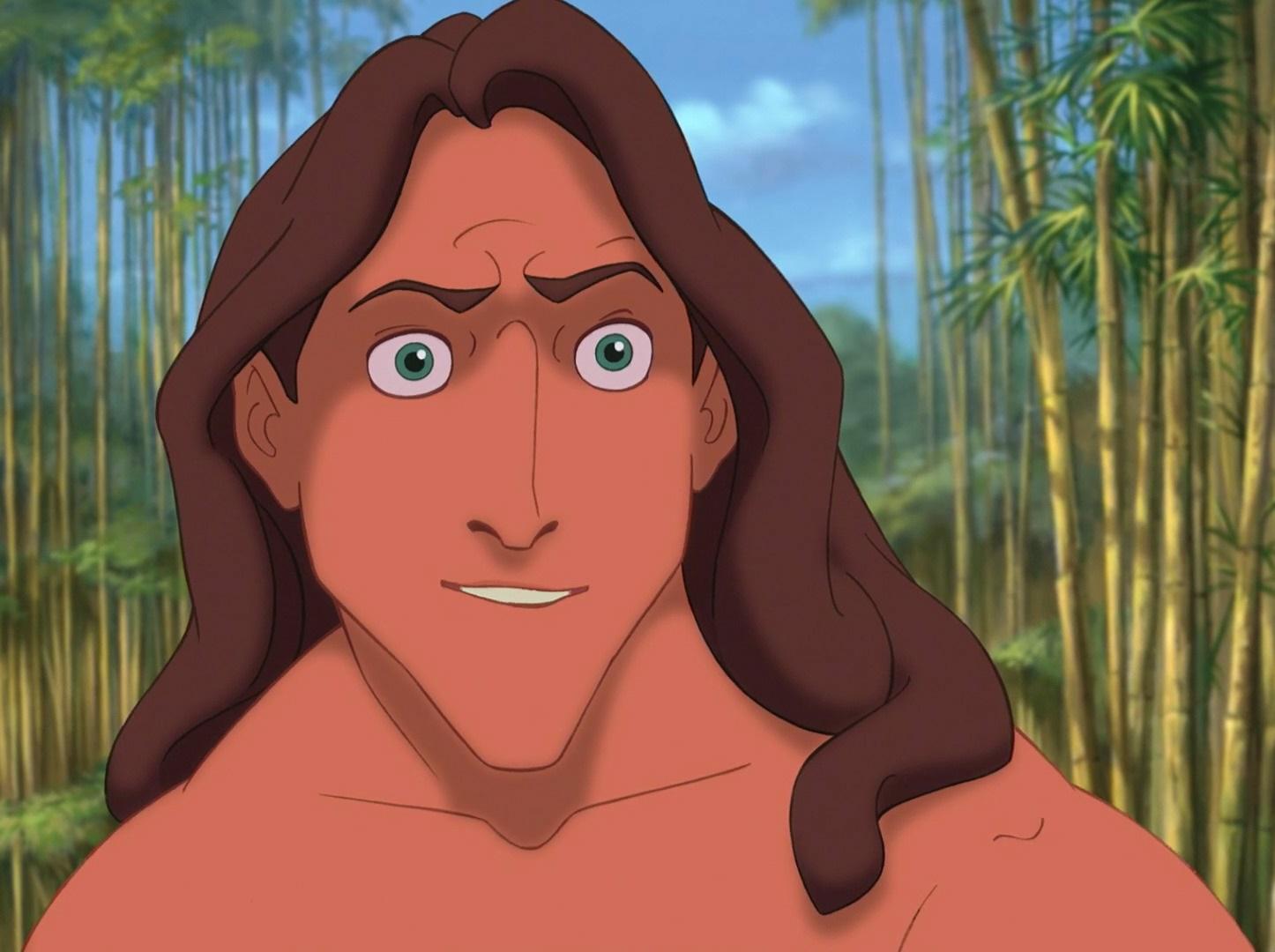 Tarzan 2 Characters Tarzan   Fictio...