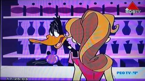 Duck Dodgers at Malyka's store-0