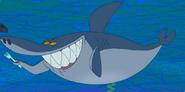 Sharko use his fork