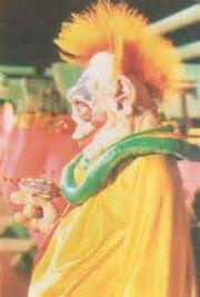 Bibbo the alien clown