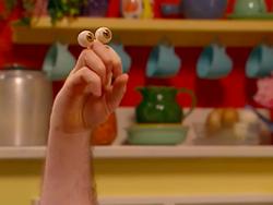 Oobi Grampu Noggin Nick Jr Hand Puppet TV Show Character 1