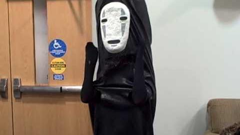No-Face (aka Kaonashi) Cosplay