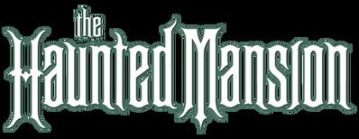 Disney Parks - The Haunted Mansion - Transparent Logo