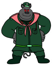 Dog A Tat The Rat A Tat tosai kansagi commander soldier boar