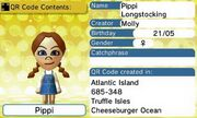 Pippi Longstocking QR Code Contents