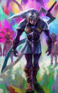 MM3D Fierce Deity and Majora-1-