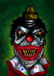 Demonic clown ii by derfanboy-d32x0kz