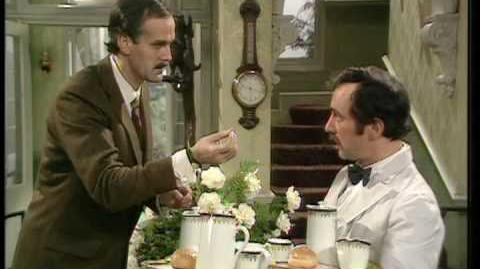 Basil Gives Manuel a Language Lesson - Fawlty Towers - BBC