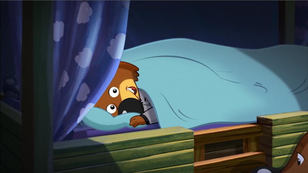 Mini Wolf In Bed Scene 12