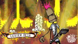 Lester deth