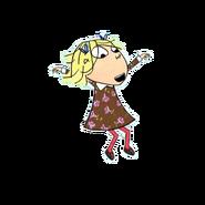 Lola jumping