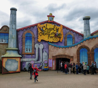 Charlie & the Chocolate Factory The Ride