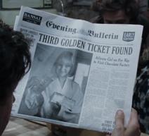 Violet Newspaper