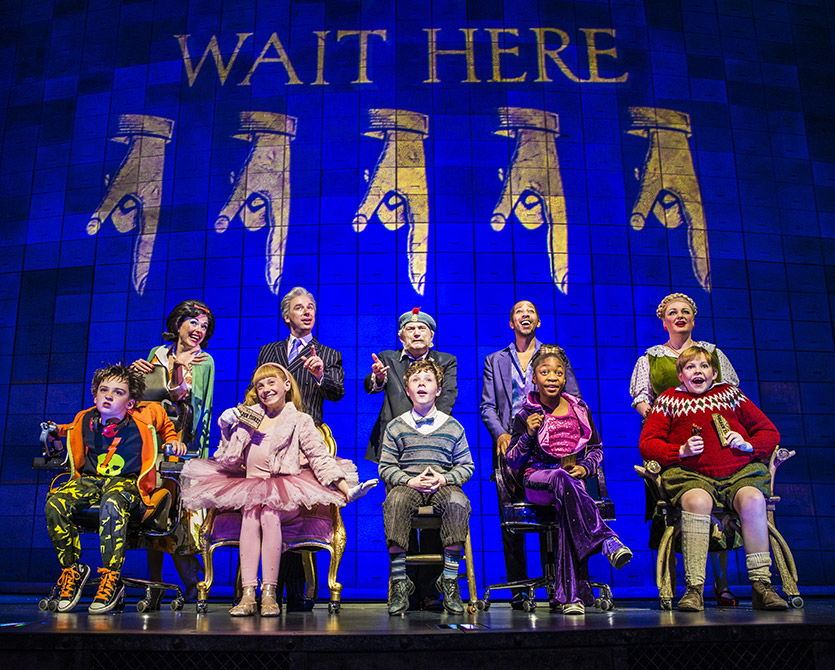 Cast Of Charlie And The Chocolate Factory West End