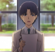Ômura, le président du BDE de Hinomori