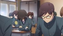 Yū triche lors des examens