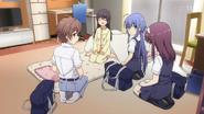 Oikawa,Konishi et Nomura viennent voir Ayumi